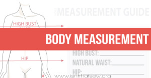 Learn how to take accurate body measurements for flat pattern making.