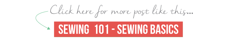 The basics of sewing explained clearly and concisely | www.isntthatsew.org