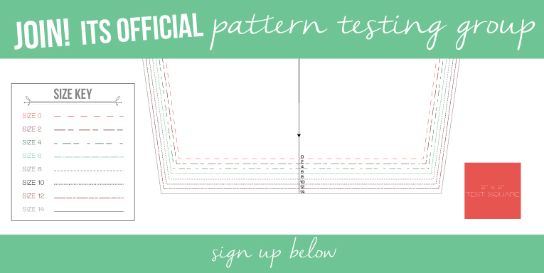 Isn't that Sew OFFICIAL Pattern Testing Group | www.isntthatsew.org