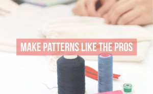 Learn the 7 simple tips to make patterns like the pro's! | isntthatsew.org