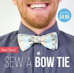 Sew a Bowtie Class