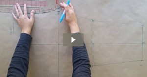 How to draft a custom fit pair of leggings!