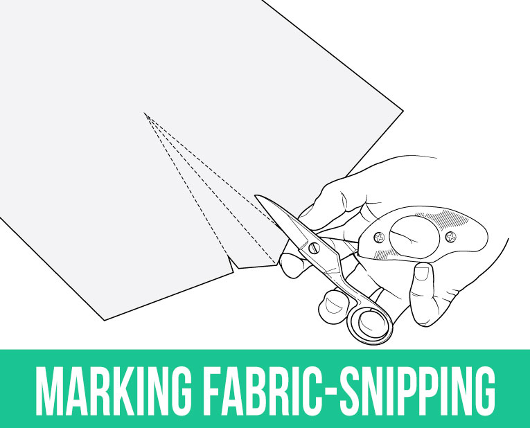 Sewing hacks: Snipping | www.isntthatsew.org