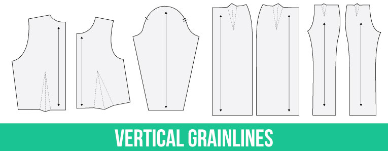 Everything you need to know about grainlines and marking and cutting fabric | www.isntthatsew.org