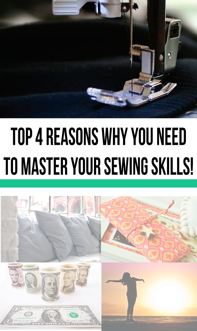 4 reasons you need to master your sewing skills, like yesterday!