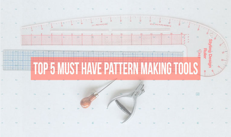 Top 5 MUST HAVE tools and supplies to get started drafting patterns today!
