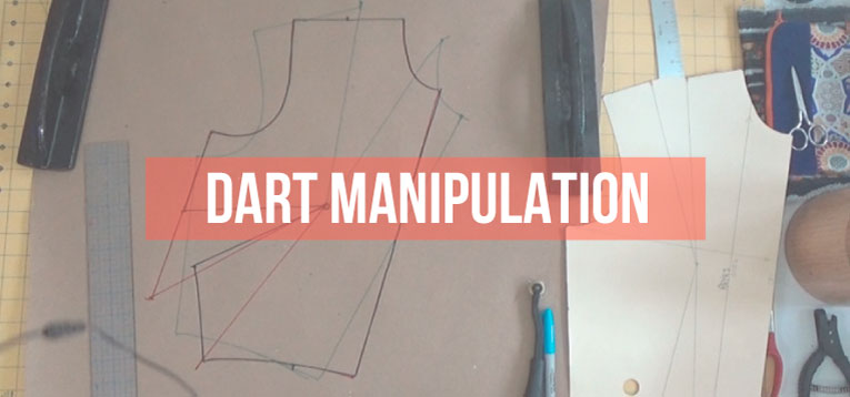 Pattern Making Fundamentals: Dart manipulation and pivot pionts