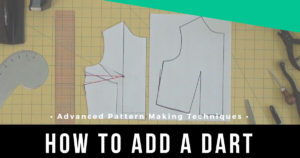 How to add a dart to the dartless bodice | www.isntthatsew.org