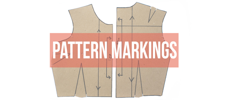 Learn the most common pattern making markings. | www.isntthatsew.org