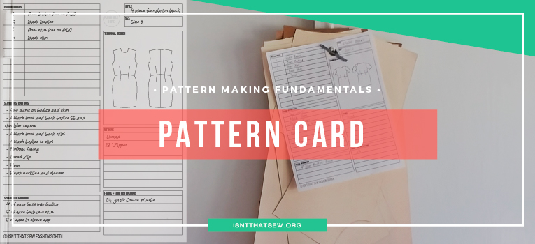 What is a pattern card and why you should already be using one